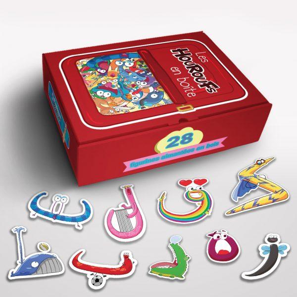 Alphabet arabe Montessori